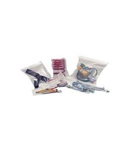 Carton Plus Ecoclip - 100 Pochettes zippées d'emballage - pression - 60 x 80 mm