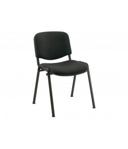 Chaise visiteur - MTI - empilable - noir