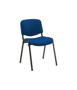 Chaise visiteur - MTI - empilable - bleu