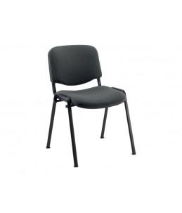 Chaise visiteur - MTI - empilable - gris