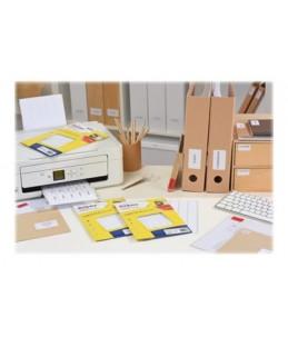 Avery - 1792 étiquettes Multi-usages - 12 x 18,3mm - Impression Laser, Jet d'encre