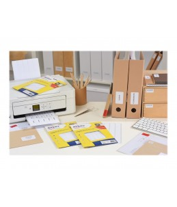 Avery - 480 étiquettes Multi-usages - 19 x 38mm - Impression Laser, Jet d'encre