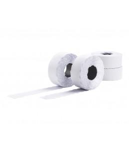 Avery - 10 rouleaux de 1500 étiquettes Amovibles pour étiqueteuse 1 ligne - 26 x 12mm - Blanc
