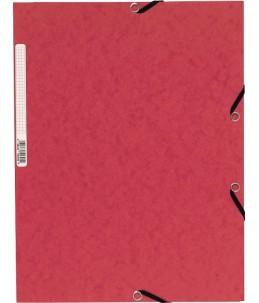 Exacompta Nature Future - chemise à 3 rabats - Rouge