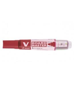 Pilot V Board Master Begreen - Marqueur effaçable - pour tableau blanc - rouge - 2.3 mm