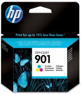 HP 901 - couleurs (cyan, magenta, jaune) - cartouche d'encre originale