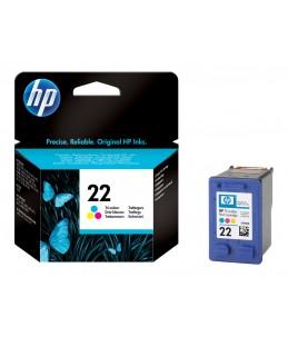HP 22 - couleurs (cyan, magenta, jaune) - cartouche d'encre originale
