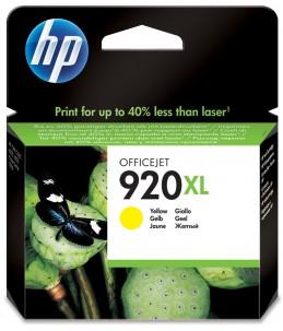HP 920XL - jaune - cartouche d'encre originale