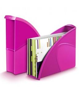 Ceppro Gloss - porte-revues - 24 x 32 cm - Violet