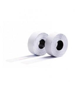 Avery - 10 rouleaux de 1200 étiquettes Amovibles pour étiqueteuse 2 lignes - 16 x 26mm - Blanc