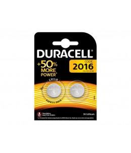 Duracell Electronics 2016 - batterie - 2 x CR2016 - Li