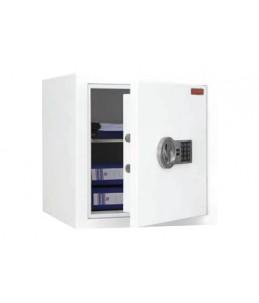 RESKAL SB600EL - Coffre-fort à valeur assurable - à code - acier - blanc