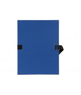 Exacompta - chemise à sangle - Bleu marine
