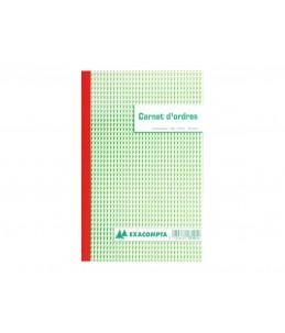 Exacompta - Manifold de reçus - 50 feuilles - 210 x 180 mm - portrait - en triple