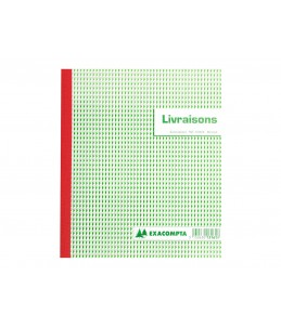 Exacompta - Manifold de livraisons - 50 feuilles - 180 x 210 mm - en triple