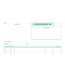 Exacompta - 1 Manifold de livraisons - 50 feuilles - A4 - en double