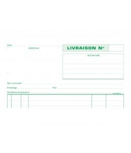 Exacompta - Manifold de livraisons - 50 feuilles - A4 - en triple