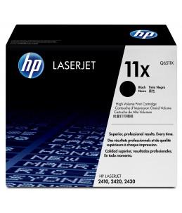 HP 11X - noir - toner LaserJet d'origine - cartouche laser