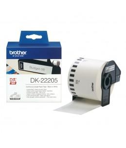 Brother DK-22205 - papier thermique - Rouleau (6,2 cm x 30,5 m)