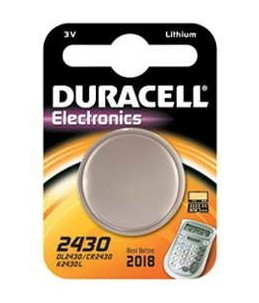 Duracell DL 2430 - batterie x CR2430 - Li