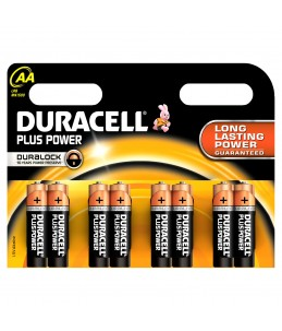 Duracell Plus Power MN1500 - batterie - 8 x type AA - Alcaline