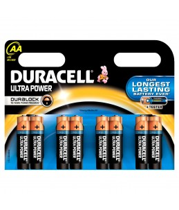 Duracell Ultra Power LR06 - 8 piles - AA