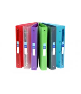 Viquel Propyglass - Classeur à anneaux - Dos 40 mm - A4 Maxi - couleurs assorties