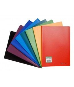 Exacompta Opaque - Porte vues - 20 vues - A4 - couleurs assorties