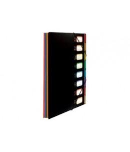 Viquel Rainbow Class - Parapheur - extensible - 8 pochettes
