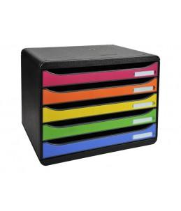 Exacompta BIG-BOX PLUS LANDSCAPE IDERAMA A4+ - bloc de classement à tiroirs