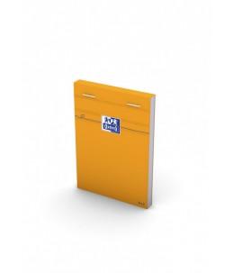 Oxford Bloc Orange - Bloc - 85 x 120 mm - 160 pages - Petits carreaux - couverture orange