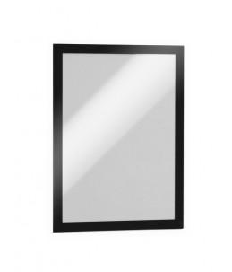 DURABLE DURAFRAME pochette adhésive - cadre d'affichage - A4 - Noir