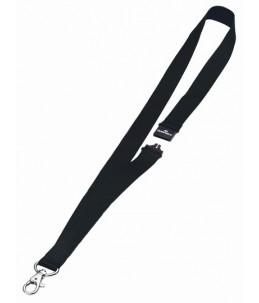 DURABLE - 10 Lacets pour badge - Noir