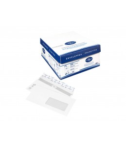 La Couronne Classique - 500 Enveloppes - 110x220 - fenêtre