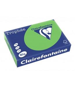 Clairefontaine Trophée - Papier couleur - 80g/m² - A4 - 500 feuilles - Vert menthe