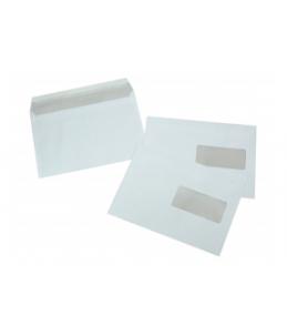 La Couronne - Enveloppe - 162 x 229 mm - avec bande (auto-adhésif) - 1 fenêtre - blanc - pack de 500