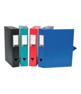 Viquel CLASS DOC - Boîte de classement - Dos 40 mm - 245 x 330 mm - couleurs assorties