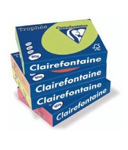 Clairefontaine Trophée - Papier couleur - 80g m² - A4 - 500 feuilles - Jonquille