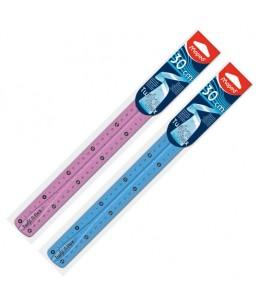 Maped Twist'n Flex - Règle souple plastique - 30 cm