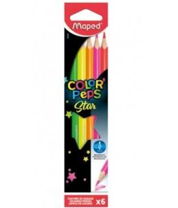 Maped Color'Peps Fluo - crayon de couleur