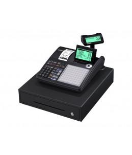 Casio SE-C450 - caisse enregistreuse - certifié loi fiscale 2018.- Tiroir : 8 pièces et 4 billets