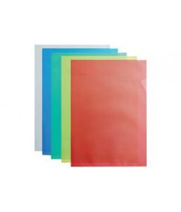 ELBA - 100 Pochettes coin - A4 - pour 25 feuilles - 12/100 - incolore