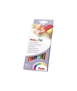 Pentel Arts - 12 Crayons de couleur