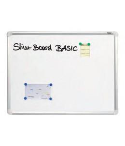 DAHLE - Tableau blanc laqué 60x90 cm - magnétique - cadre alu renforcé