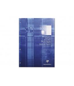 Clairefontaine - Bloc rechargeable - A4 - 200 pages - Petits carreaux - 4 trous 80 x 80 x 80 mm