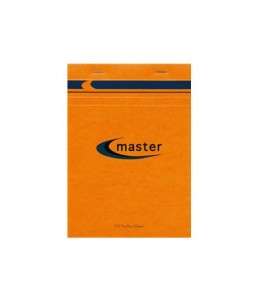 Clairefontaine Master - 5 Blocs-notes - A4 - 200 pages - 5x5 - petits carreaux - orange