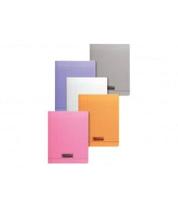 Calligraphe 8000 - Cahier - 17 x 22 cm - 96 pages- grands carreaux - disponible dans différentes couleurs