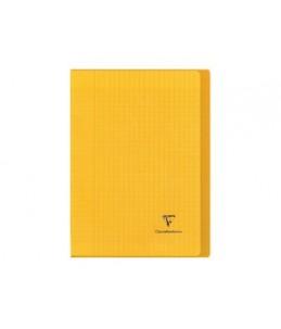 Clairefontaine Koverbook A4+ - Cahier - 24 x32 cm - 96 pages - grands carreaux - transparent, disponible dans différentes cou