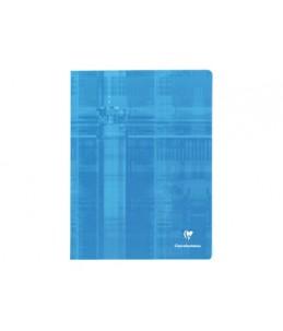 Clairefontaine - Cahier agrafé - 24 x 32 cm - 96 pages - Grands carreaux - disponible dans différentes couleurs
