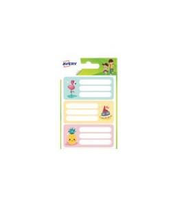 Avery Family - étiquettes scolaires (pack de 15)
